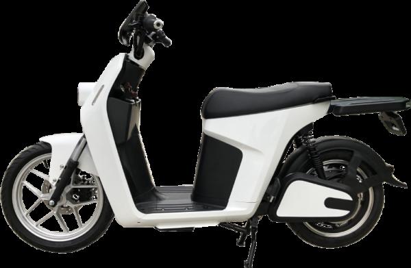 Liberare blanca moto electrica