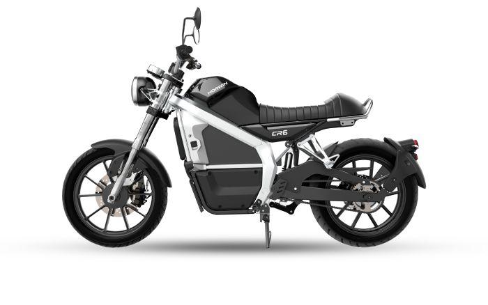 Cr6 negra moto electrica menu