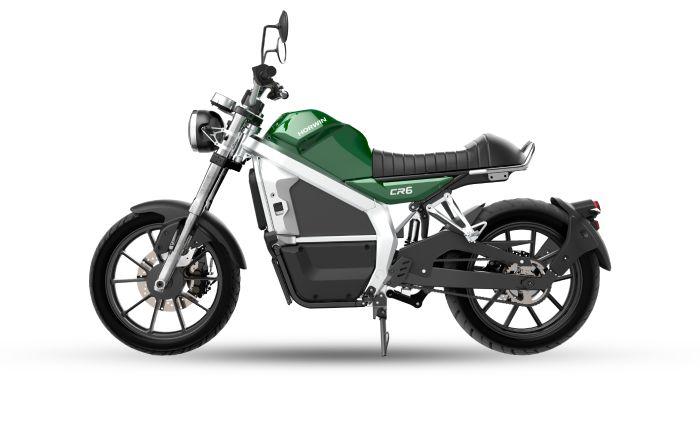 Cr6 verde moto electrica menu